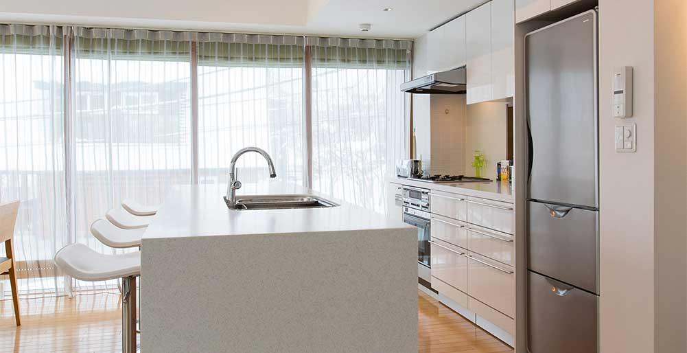 Kita Kitsune Chalet - Elegant kitchen setting