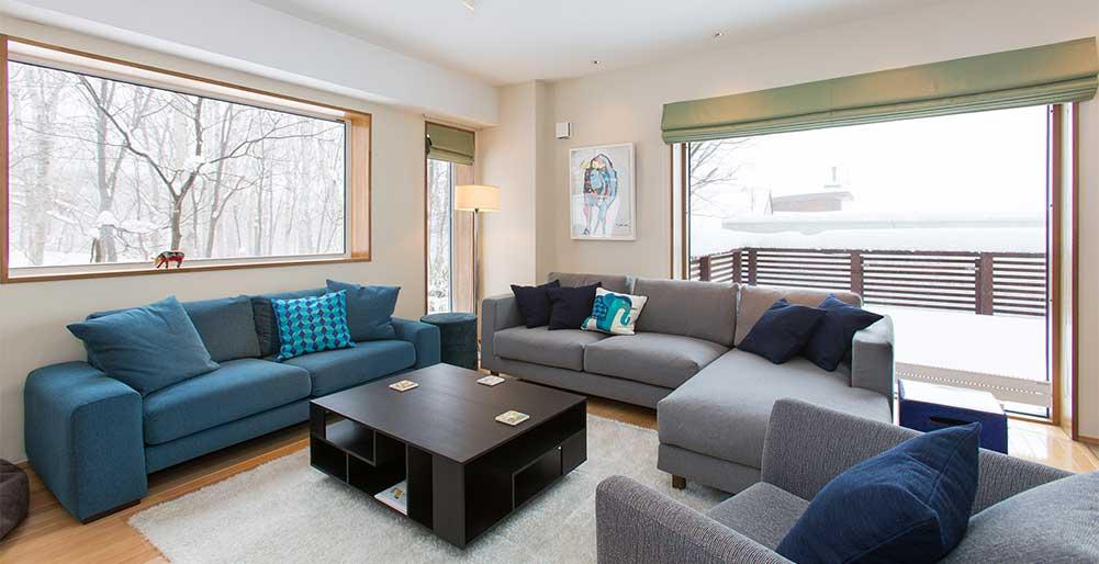 Kita Kitsune Chalet - Comfortable living area
