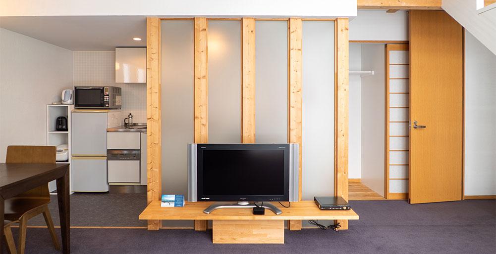Sekka Ni 2 - Flatscreen TV in living room