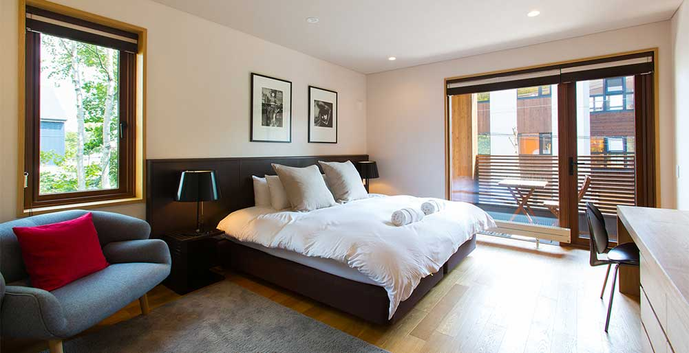 Seshu Chalet - Guest bedroom layout