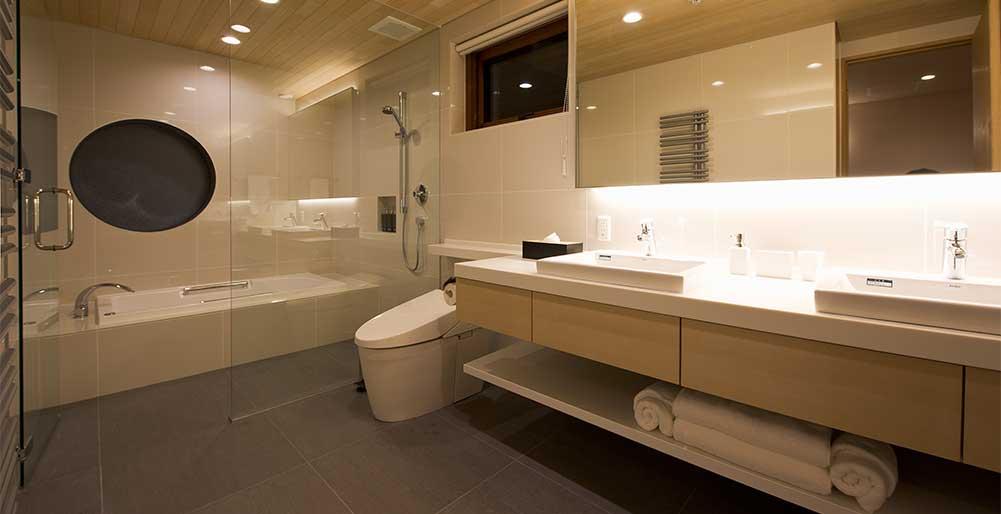 Seshu Chalet - Ensuite bathroom design