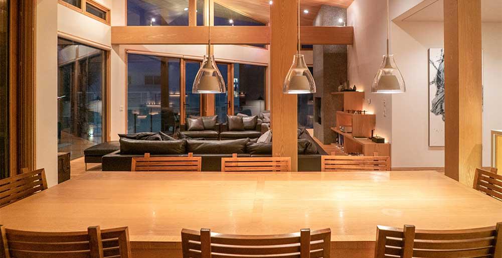 Seshu Chalet - Blonde wood and modern amenities