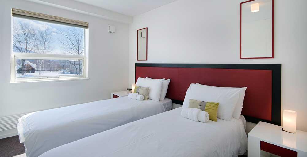 Yamabiko Chalet - Guest bedroom design