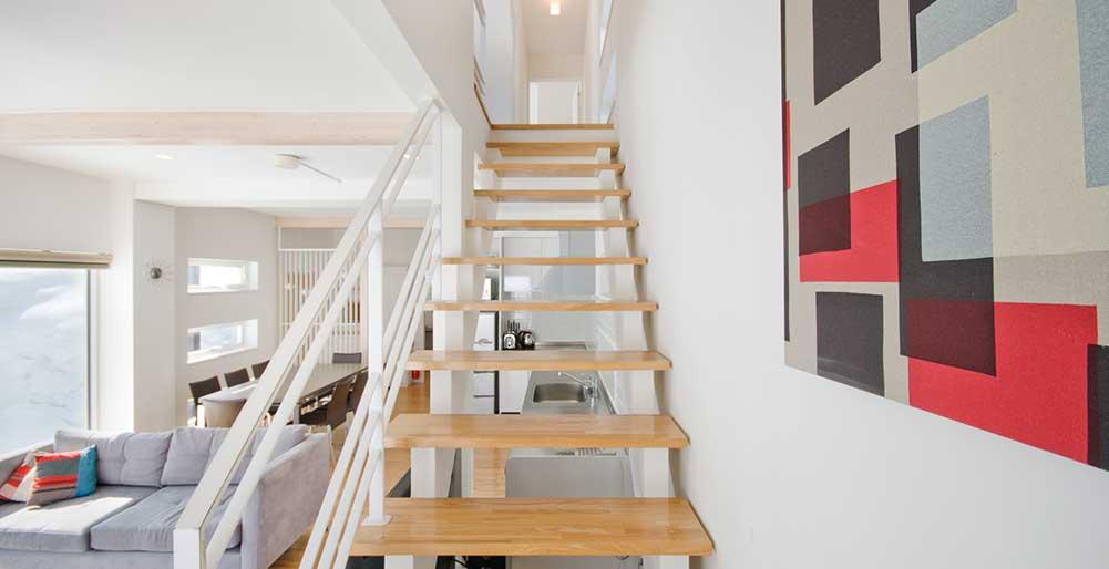 Yamabiko Chalet - The staircase