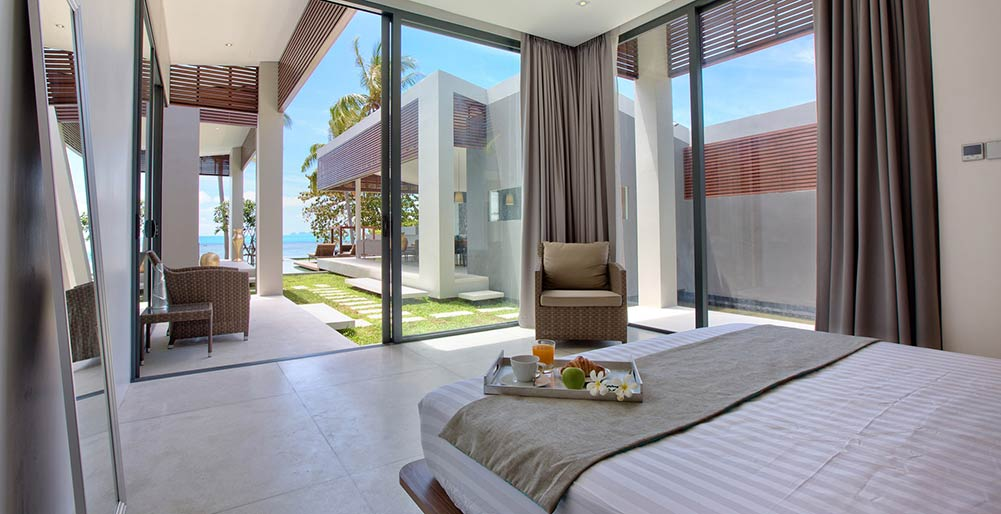 Villa Soong at Mandalay Beach Villas - Bedroom three with exquisite view