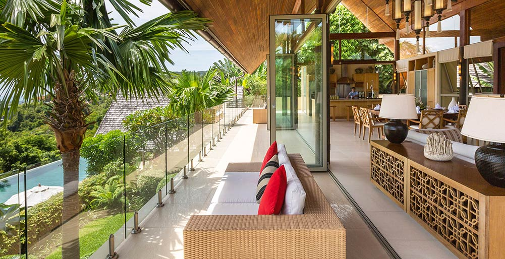 Kalya Residence at Panacea Retreat - Tropical terrace