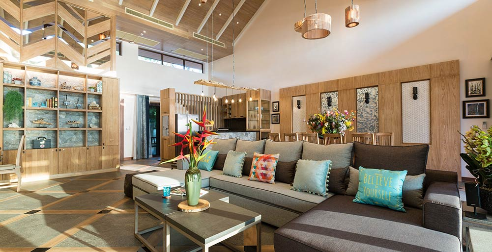 Villa Angthong - Gorgeous living area design