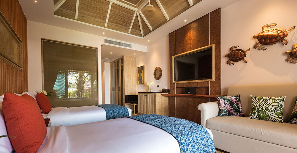 Angthong Villa - Exquisite bedroom three design