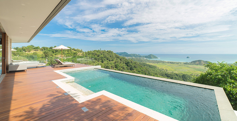 Selong Selo - 4 bedroom - Pool and mesmerising view