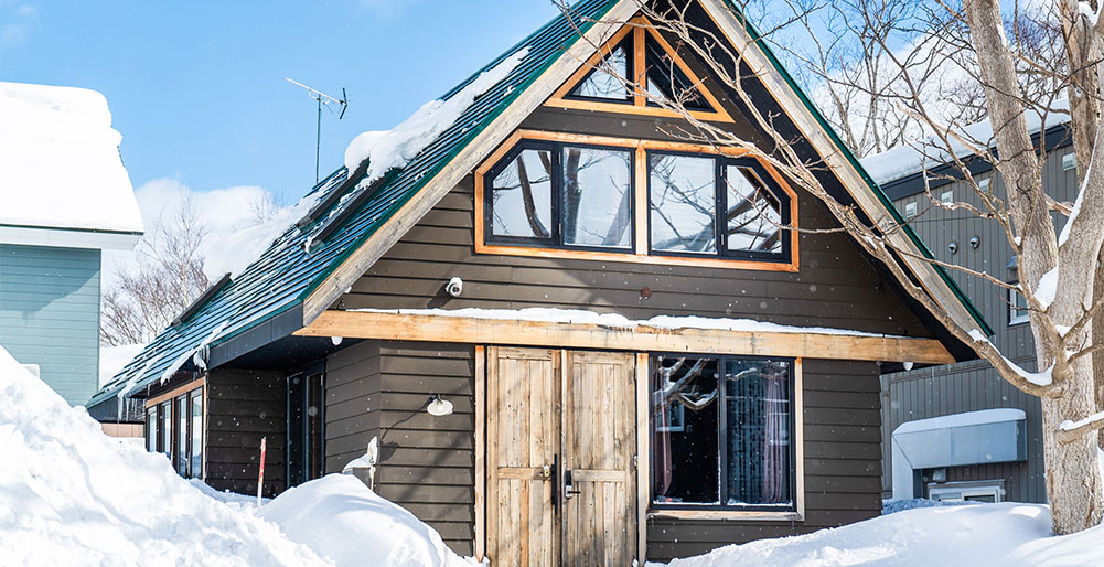 Momiji Lodge - Chalet facade<br />