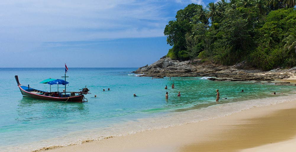 Villa Napalai Surin - The local beach