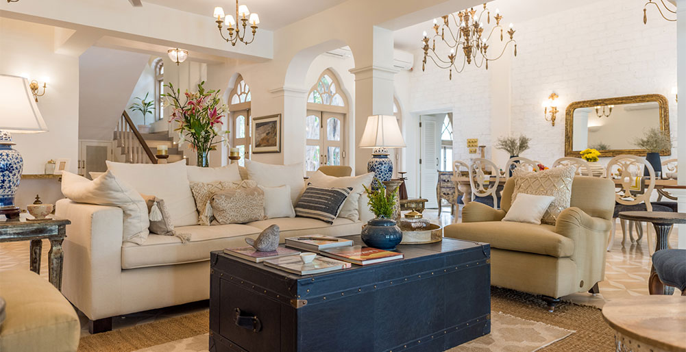 Villa Vivre - Luxurious living area