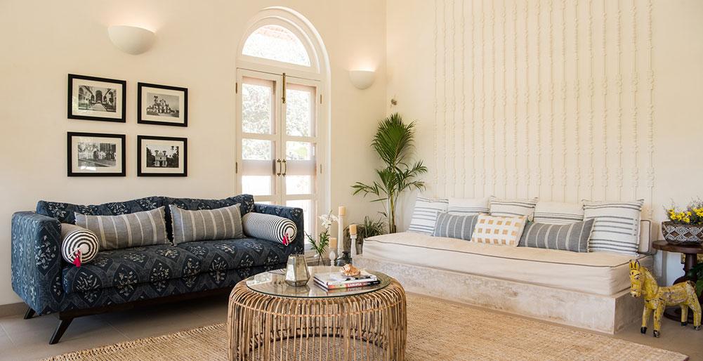 Villa Loto Bianco - Living area setup