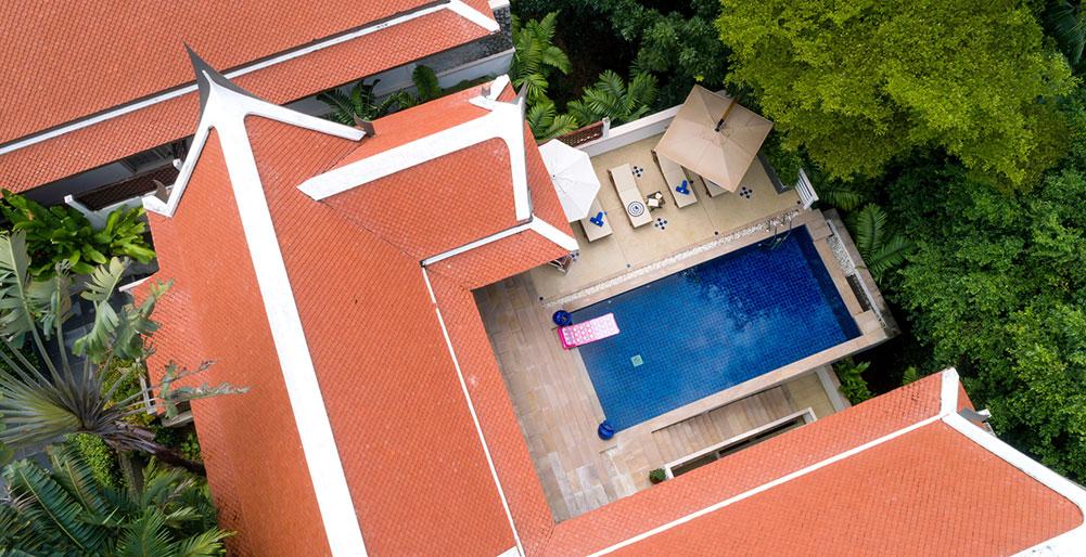 Villa Makata 1 - Aerial view