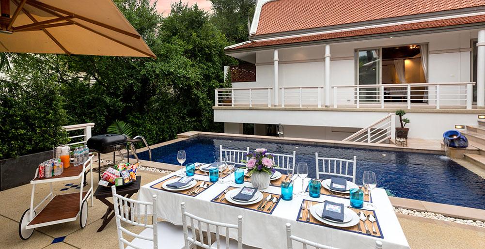 Villa Makata 1 - Alfresco dining