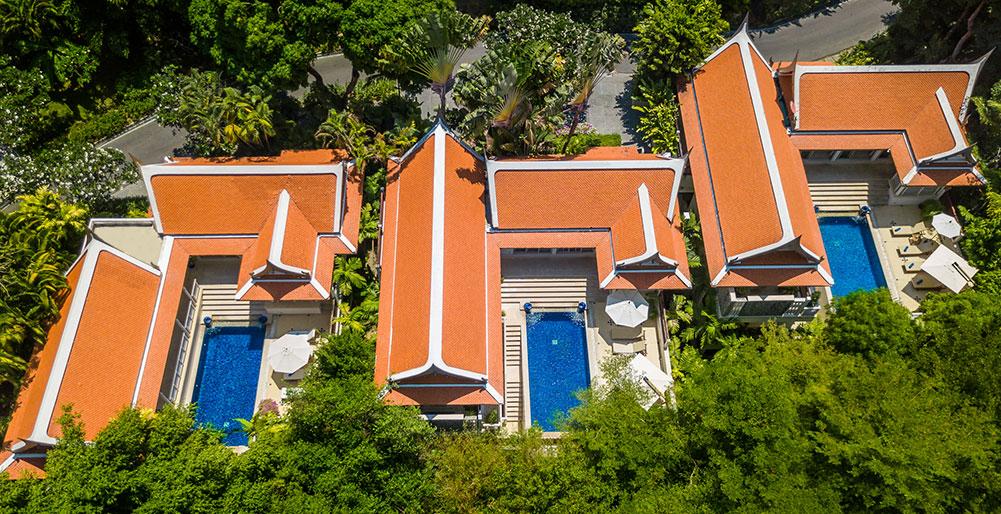 Villa Makata 1 - Aerial shot