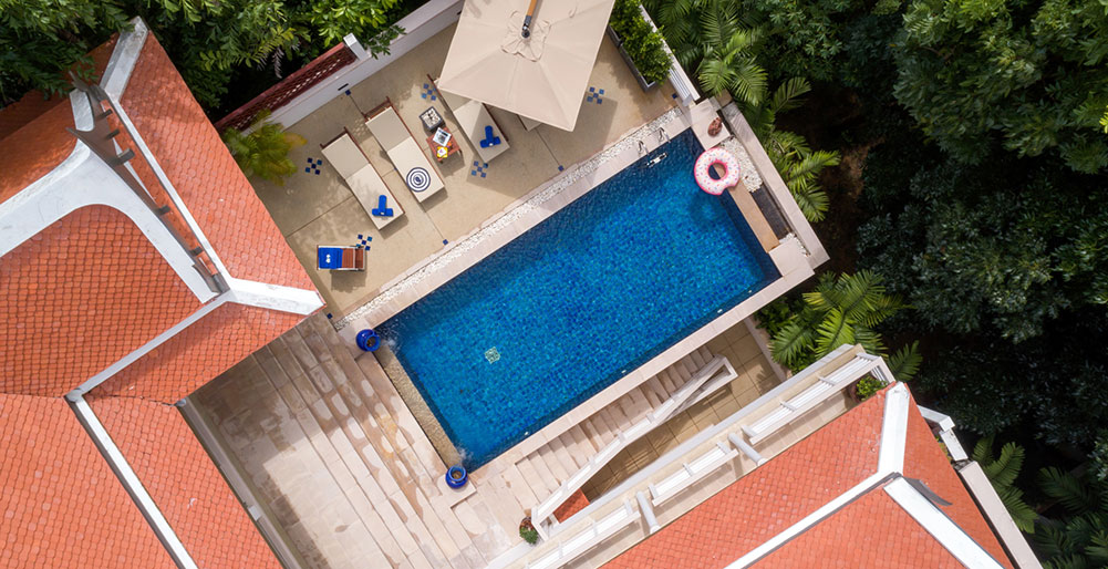 Villa Makata 2 - Aerial view
