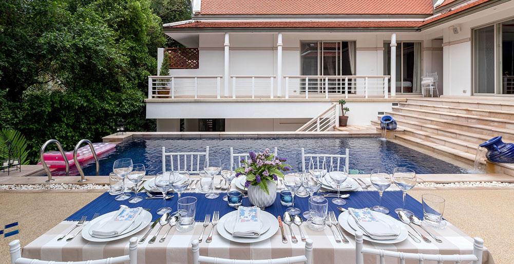 Villa Makata 2 - Outdoor dining