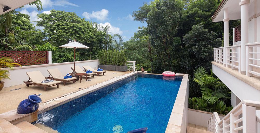 Villa Makata 2 - Pool terrace