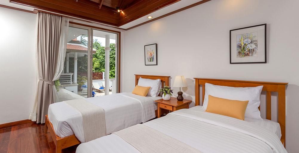Villa Makata 2 - Twin guest bedroom