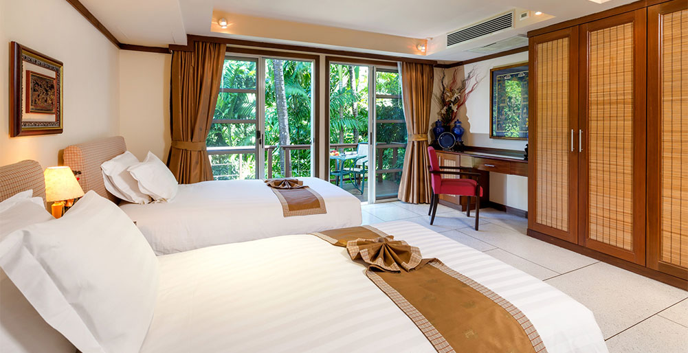 Villa Kamia - Twin guest bedroom