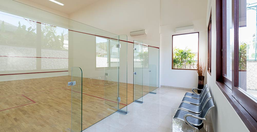 Pandawa Cliff Estate - Squash court