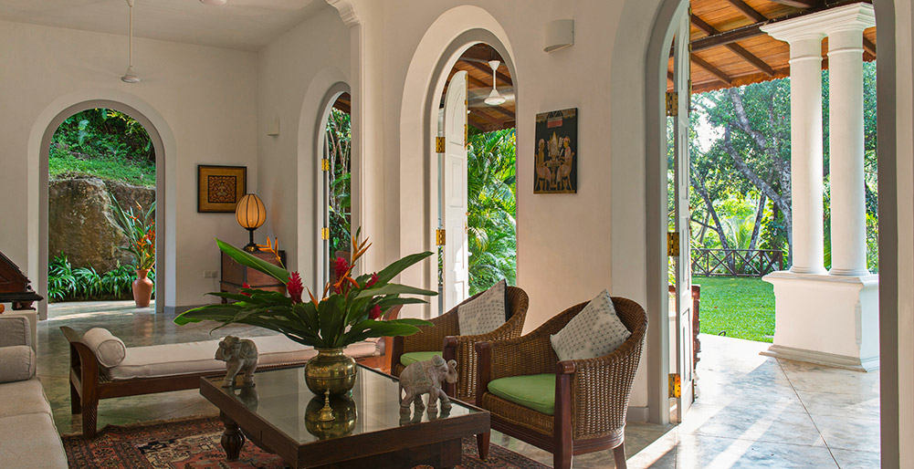 Pooja Kanda - Living room and veranda