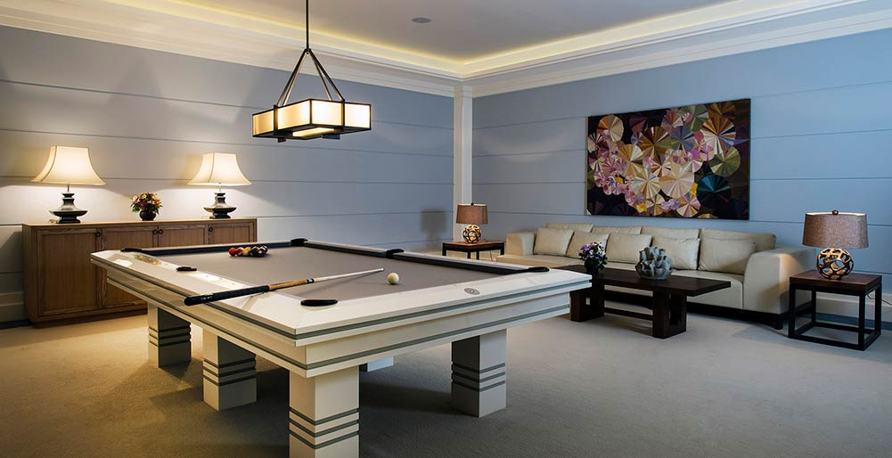 Praana Residence at Panacea Retreat - Billiard and poker room