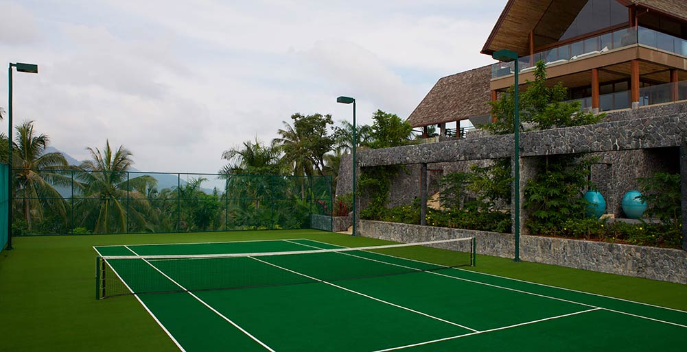 Praana Residence at Panacea Retreat - Tennis Court