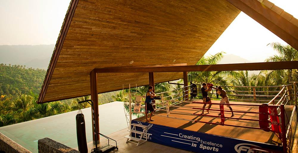 Praana Residence at Panacea Retreat - Boxing ring, Bophut Villa