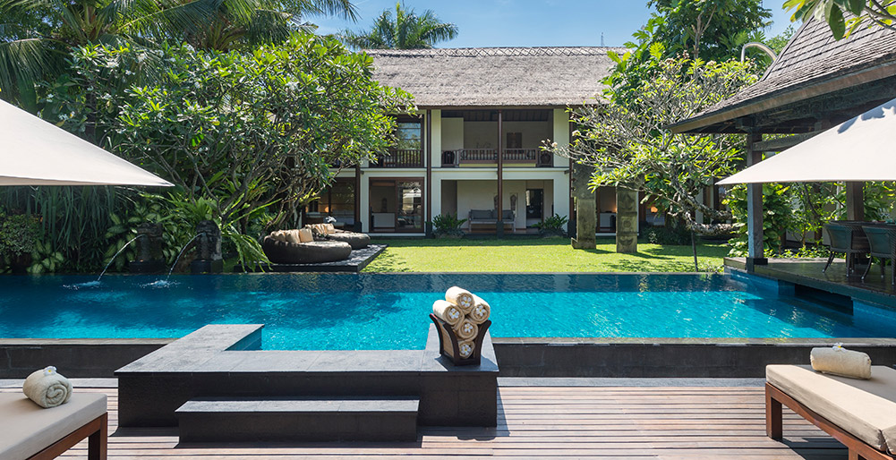 Villa Ramadewa - The pool