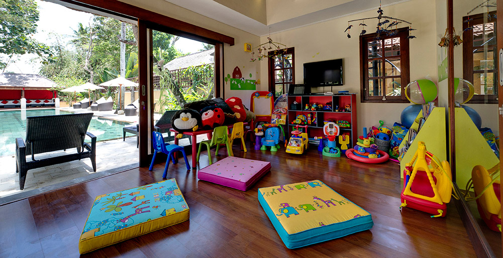 Villa San - Children's play room