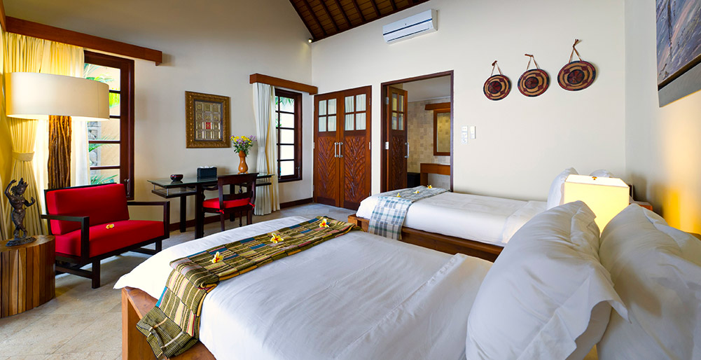 Villa San - Guest twin bedroom 6