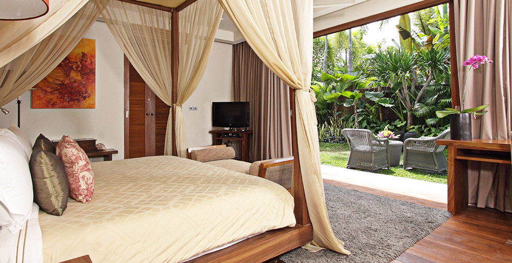Villa Sarasvati - Guest bedroom terrace