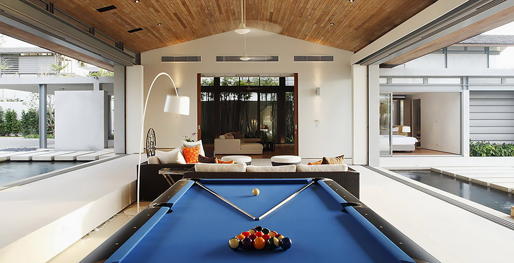 Villa Cielo - Pool table