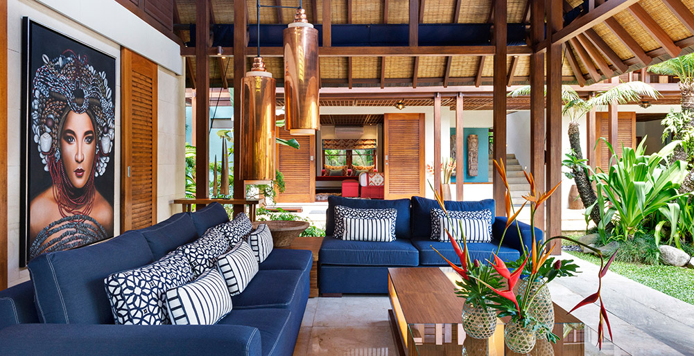 Villa Windu Sari - Living space