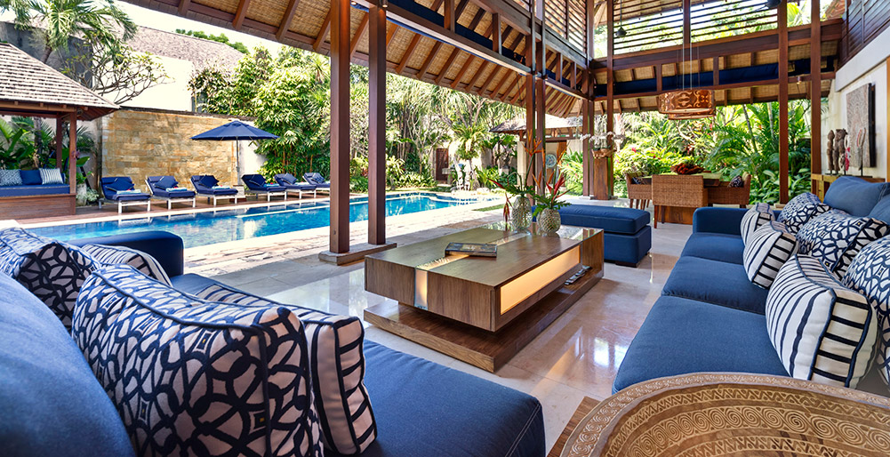 Villa Windu Sari - Living and dining areas