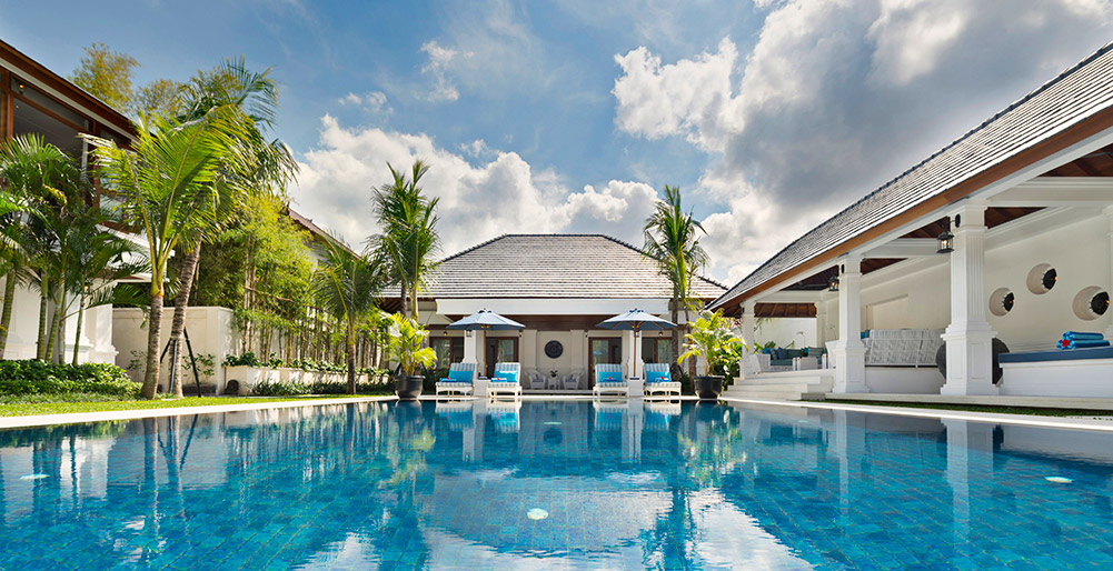 Villa Windu Asri - Pool and villa