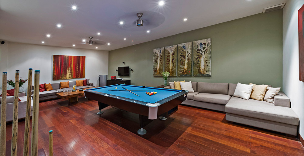 Villa Jamalu - Games room