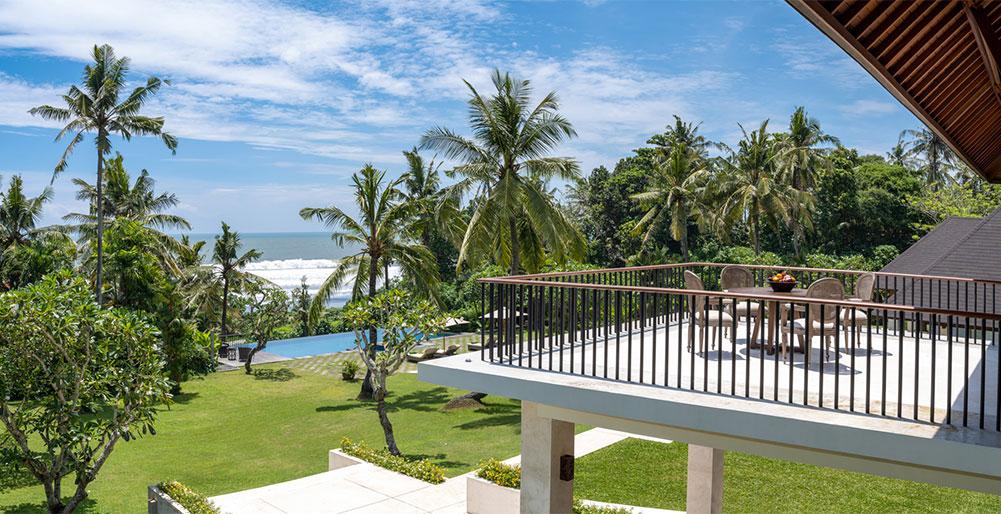 Villa Kailasha - Commanding views from balcony
