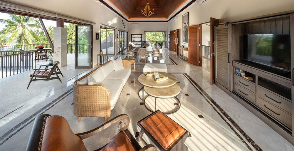 Villa Kailasha - Multi-purpose hall with TV lounge