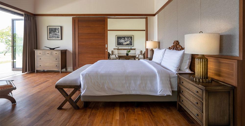 Villa Kailasha - Master bedroom