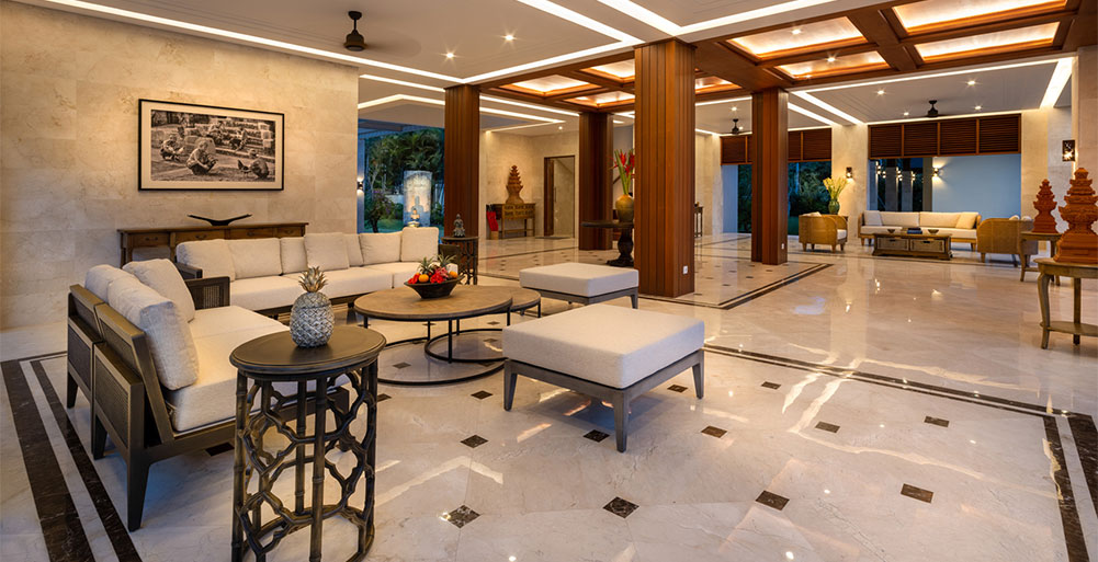 Villa Kailasha - Living room