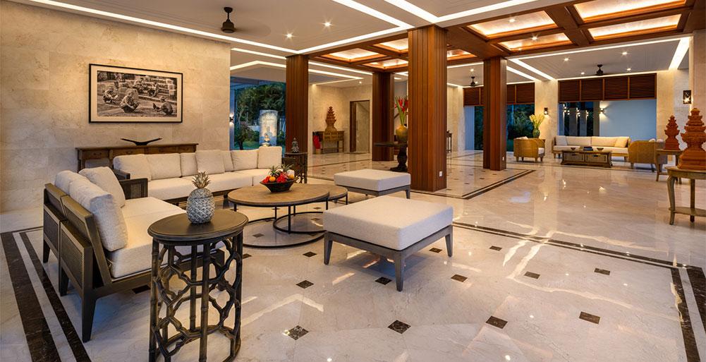 Villa Kailasha - Living room