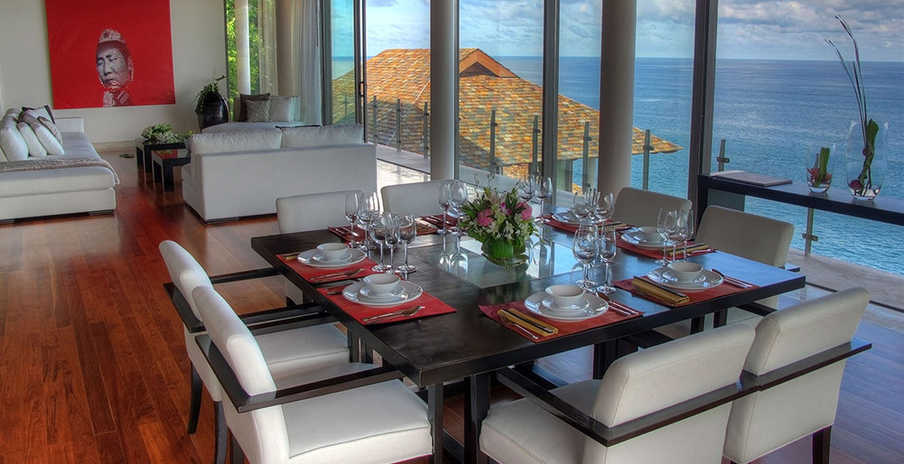Villa Minh - Outstanding dining setting