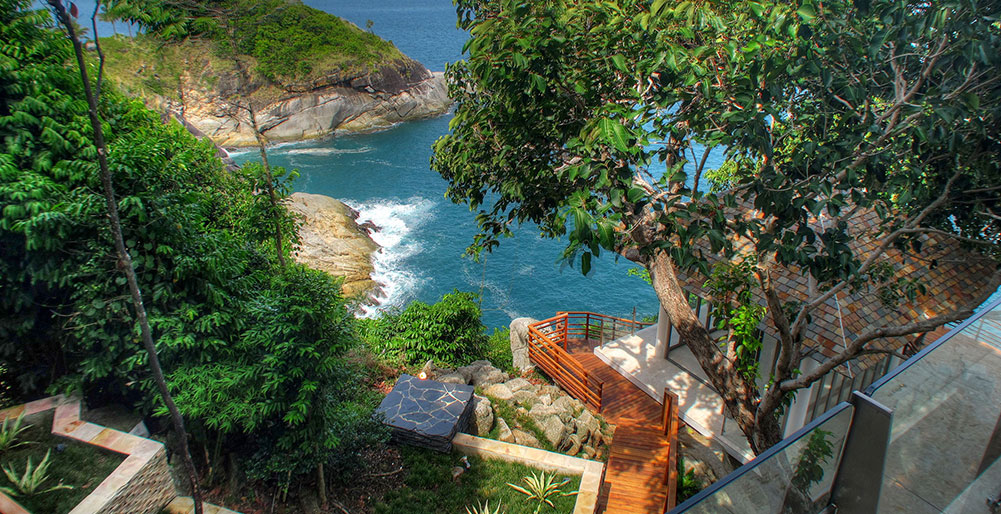 Villa Minh - Clifftop setting