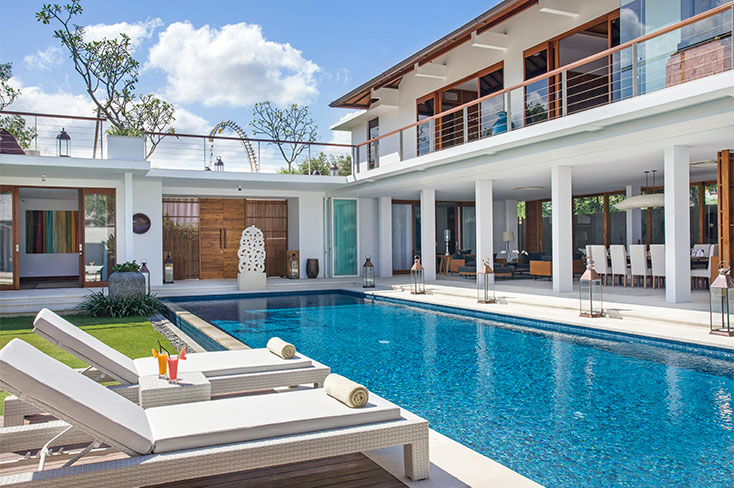 Villa Cendrawasih, 5 Bedroom villa, Seminyak, Bali