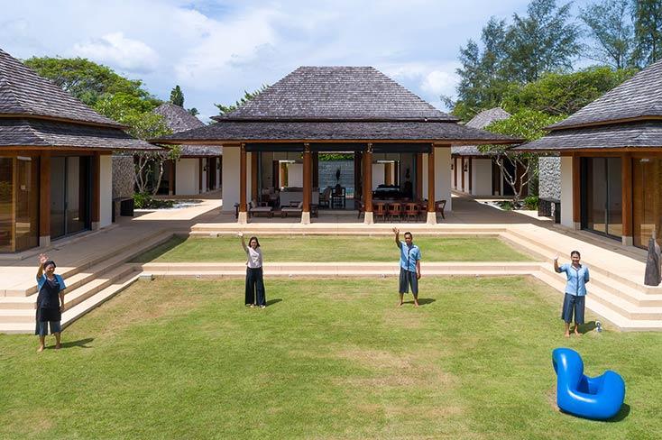 Jivana Beach Villas - Villa Jia, 6 Bedroom villa, Natai Beach, Phuket
