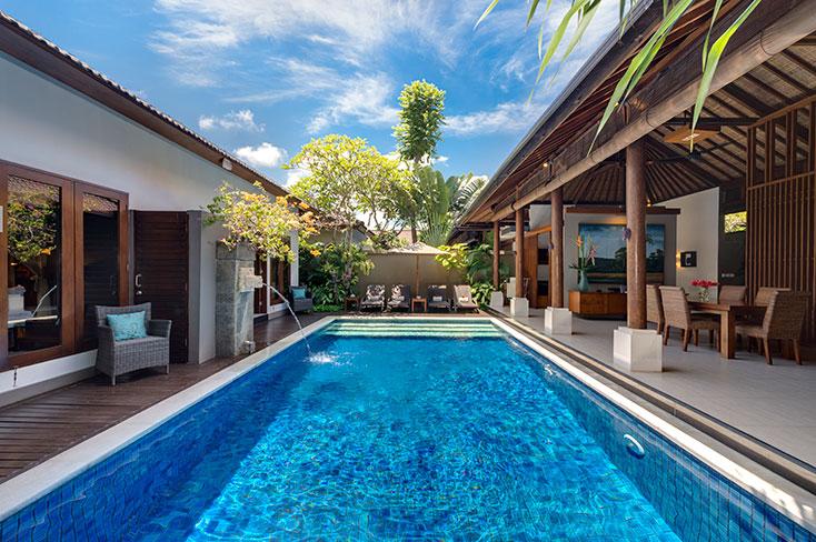 Lakshmi Villas - Toba, 2 Bedroom villa, Seminyak, Bali