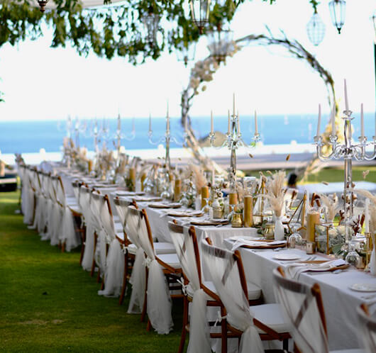 Wedding villas